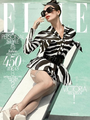 Sesja Victorii Beckham dla Elle (FOTO)