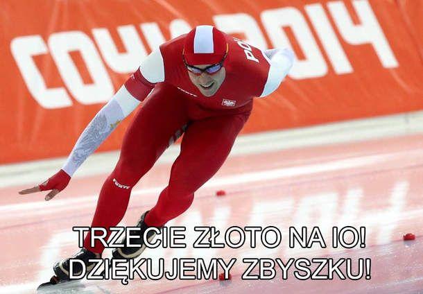 Zbigniew Bródka zdobył złoty medal!
