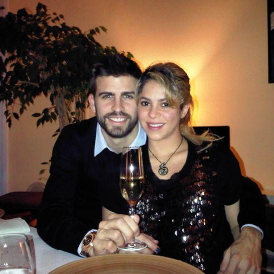 Shakira i Gerard Pique przywitali Nowy 2013 Rok (FOTO)