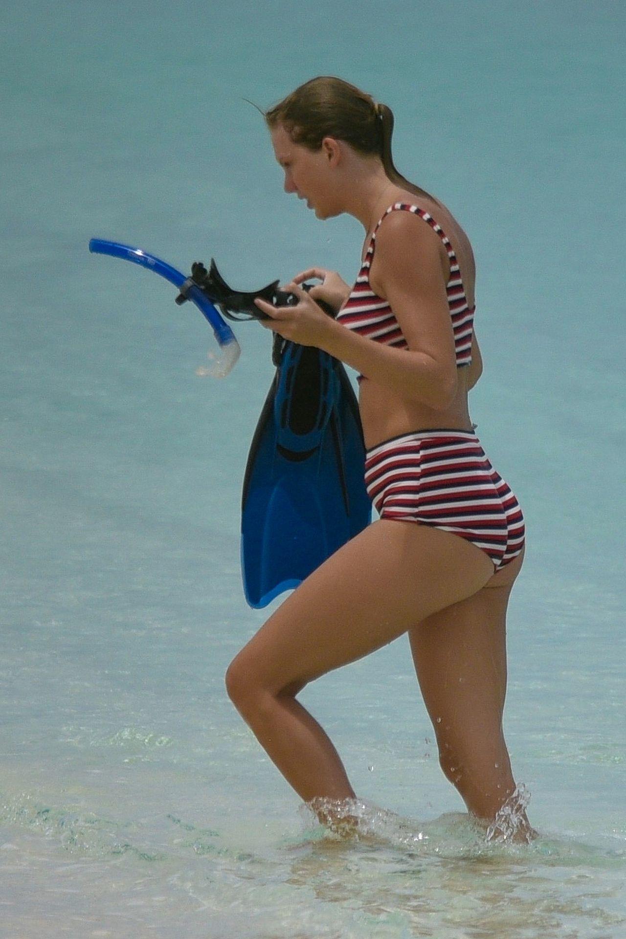 Taylor Swift w BIKINI na wakacjach z Joe Alwynem (ZDJĘCIA)