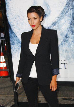 Kim Kardashian znów jako brunetka (FOTO)