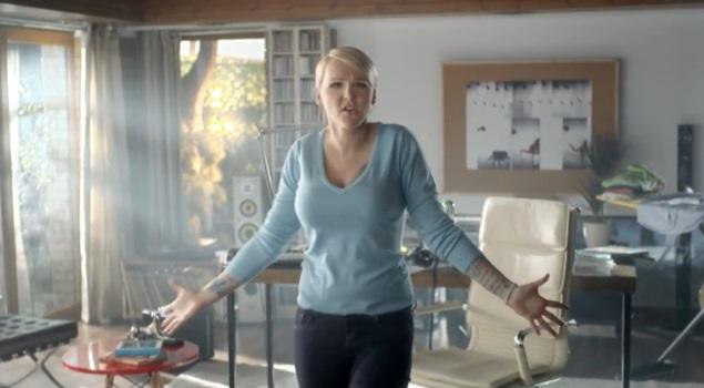 Agnieszka Chylińska wystąpiła w reklamie (VIDEO)
