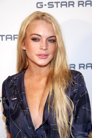 Lindsay Lohan z pistoletem [VIDEO]