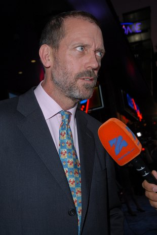 Debiut Hugh Laurie na Kozaczku (FOTO)
