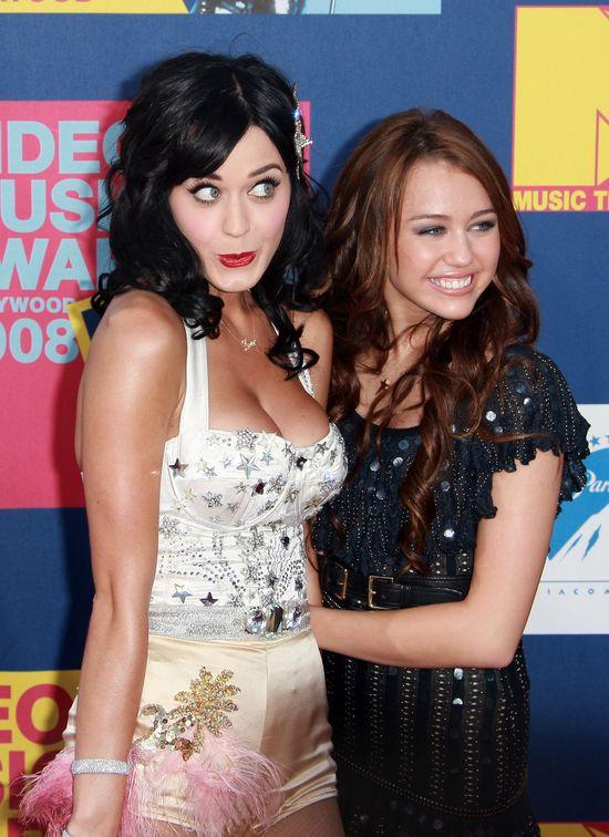 Miley Cyrus, Katy Perry, VMA 2008