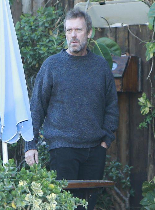 Hugh Laurie miał kiepską noc? (FOTO)