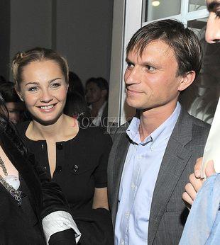 Małgorzata Socha z mężem na imprezie (FOTO)