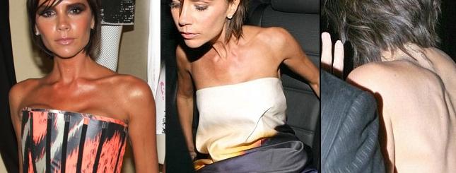 Victoria Beckham: Jestem zdrowa i jem!