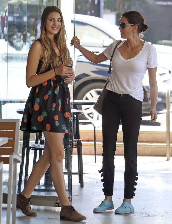 Teri Hatcher z córką