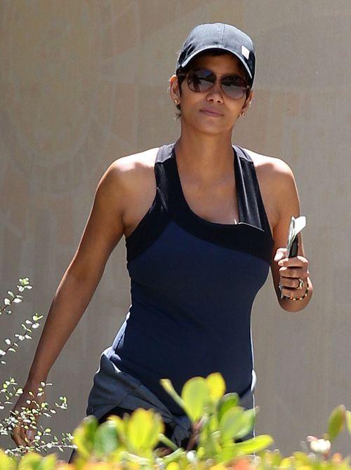 Halle Berry jest dumna ze swojego ciążowego brzuszka (FOTO)