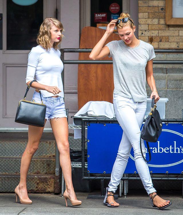 Taylor Swift i Karlie Kloss na obiedzie