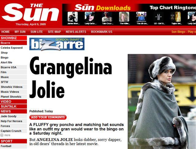 Angelina Jolie wygląda jak babcia?