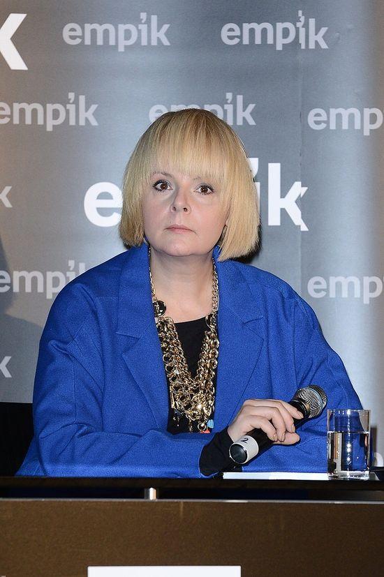 Z blondynki w szatynk� - nowy look Korwin-Piotrowskiej(FOTO)