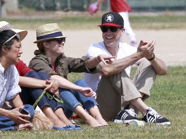 Witherspoon i Phillippe kibicują swojemu synowi (FOTO)