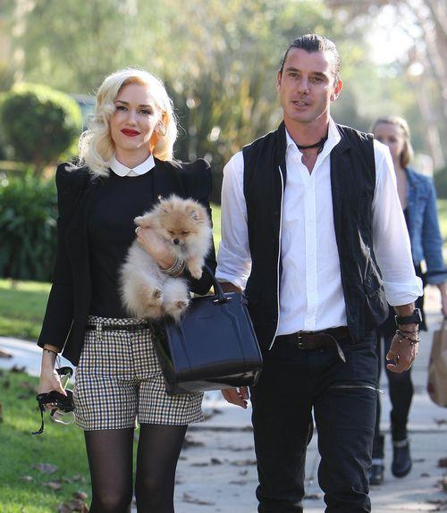 Gwen Stefani z rodziną w Dzień Dziękczynienia