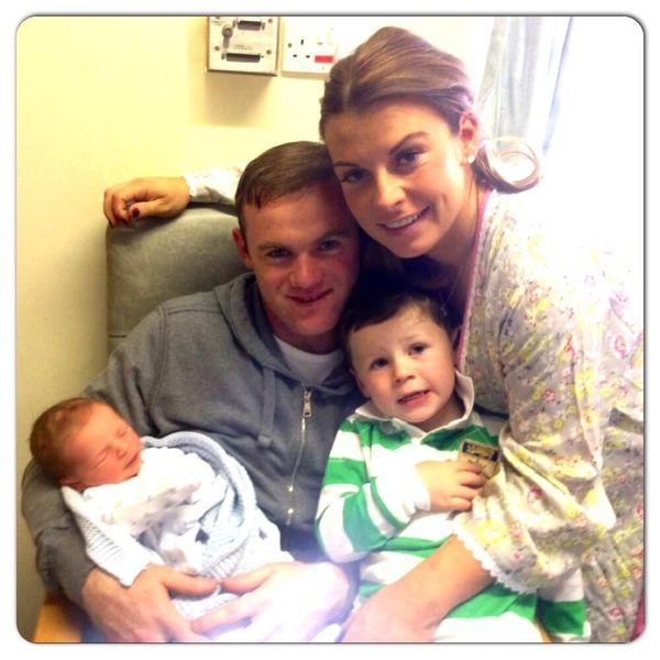 Coleen Rooney urodzi�a drugiego synka (FOTO)