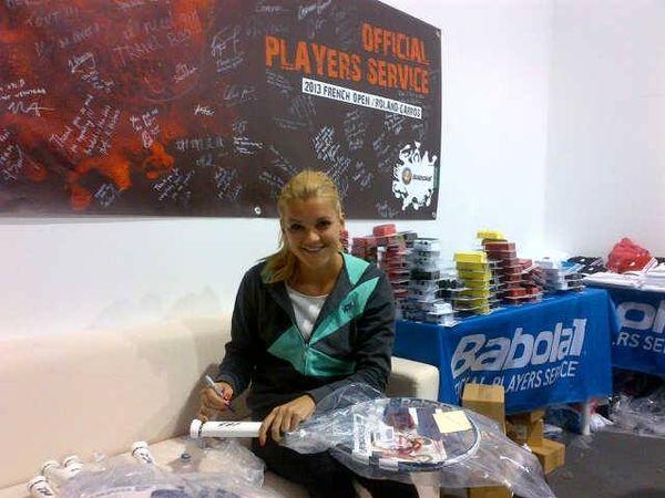 Agnieszka Radwańska przefarbowała się na blond (FOTO)