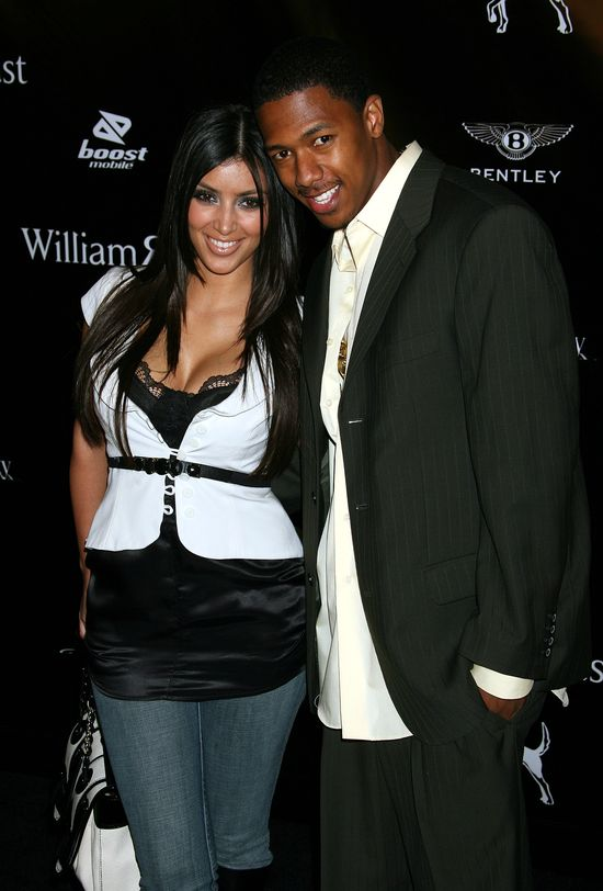 Kim Kardashian i Nick Cannon, spotykali się w latach 2006-2007