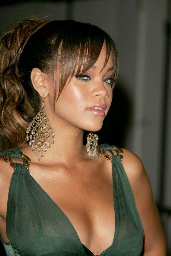 Rihanna na starych zdjęciach
