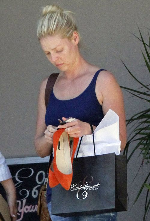 Katherine Heigl zabrała mamę do spa (FOTO)