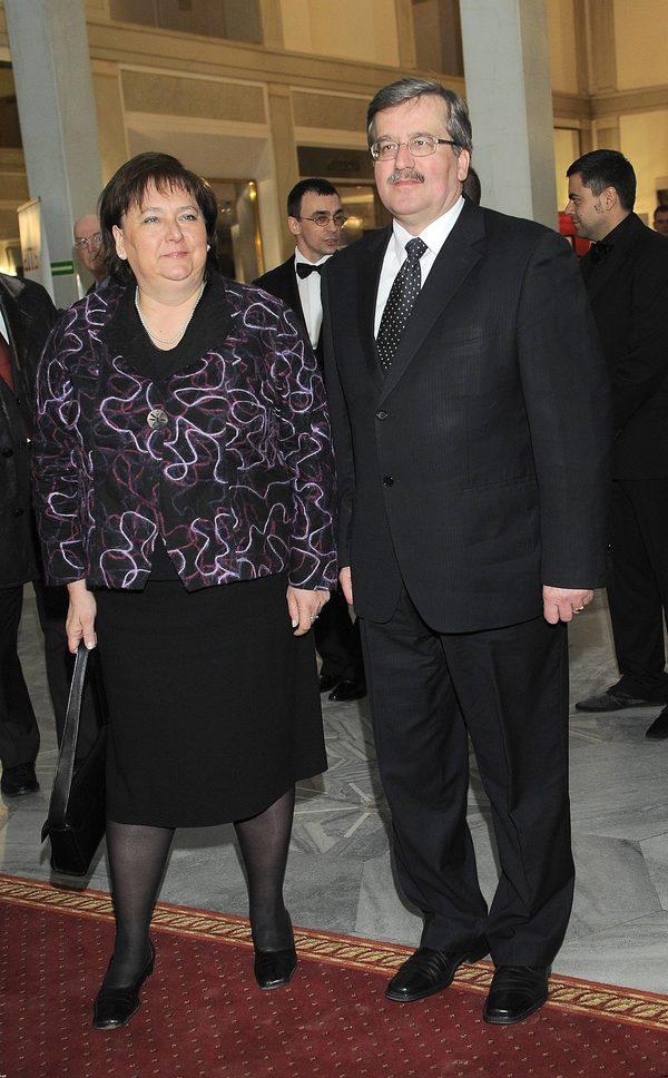 Anna Komorowska w 2009 roku - zanim została Pierwszą Damą.