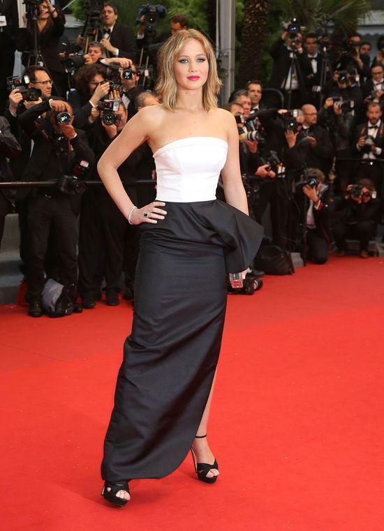 Jennifer Lawrence w kreacji Christiana Diora