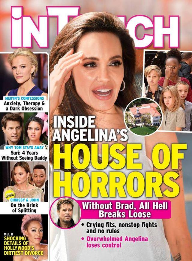 Przerażające szczegóły z domu Angeliny Jolie. To HORROR