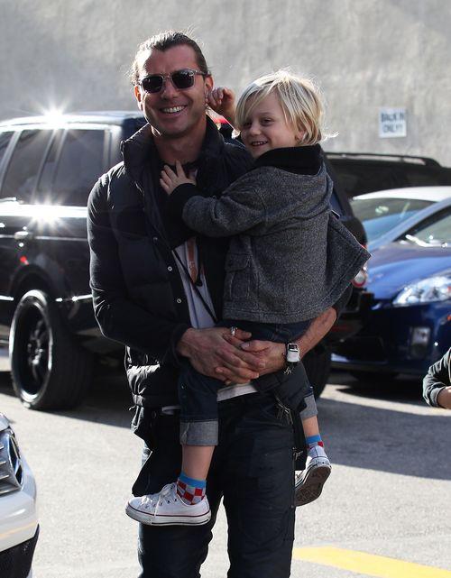 Gavin Rossdale chętnie spędza czas z synami (FOTO)