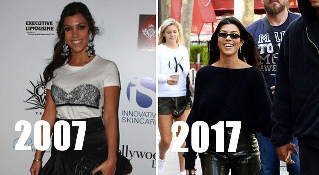 Oto jak pieniądze (i czas) zmieniły Kardashianki i Jennerki