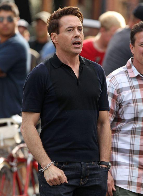Robert Downey Jr. zbliża się do pięćdziesiątki (FOTO)
