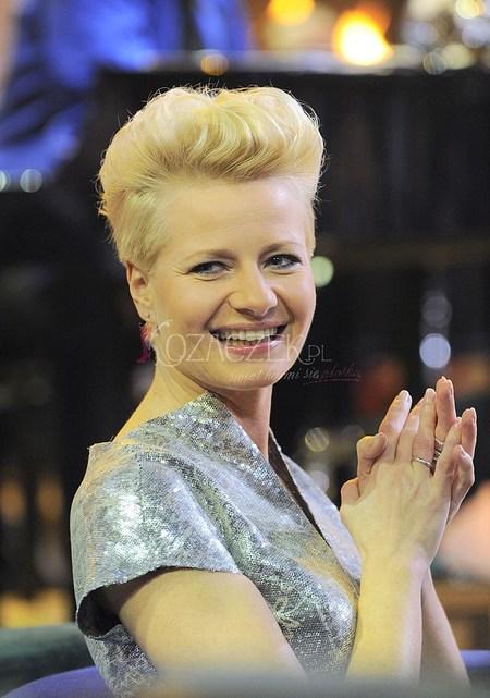 Srebrna Małgorzata Kożuchowska (FOTO)
