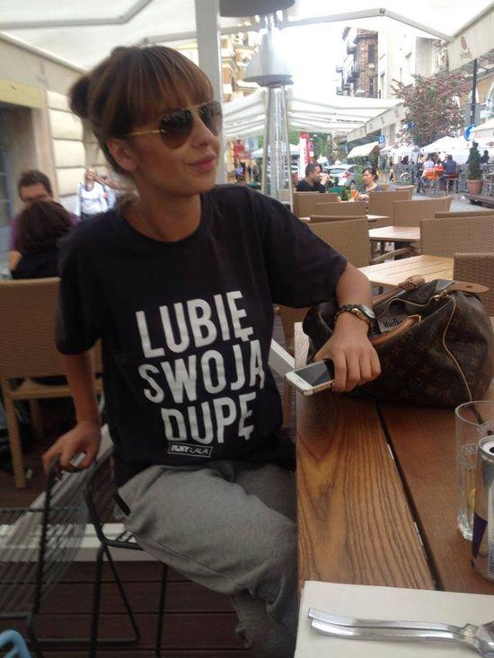 Patrycja Wojnarowska lubi swoją pupę (FOTO)