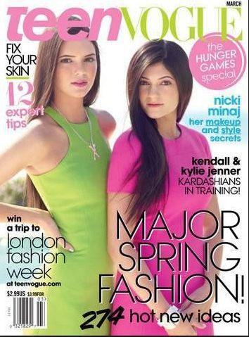 Kylie Jenner, Kendall Jenner, TeenVogue