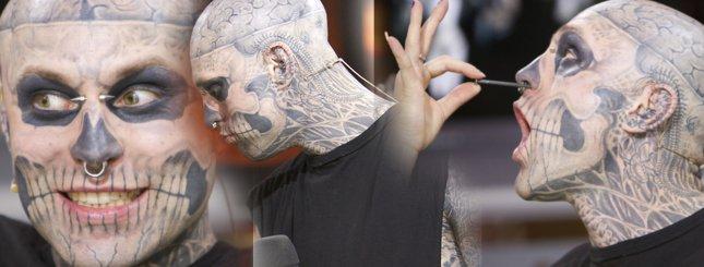 Rick Genest – najbardziej odrażający model? (FOTO)