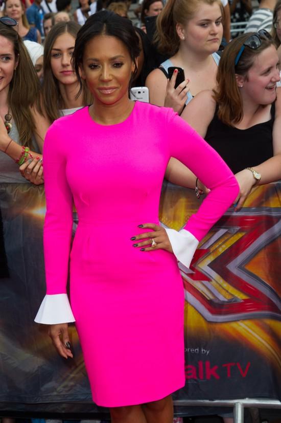 Melanie Brown jako jurorka X-Factor w 2014 roku