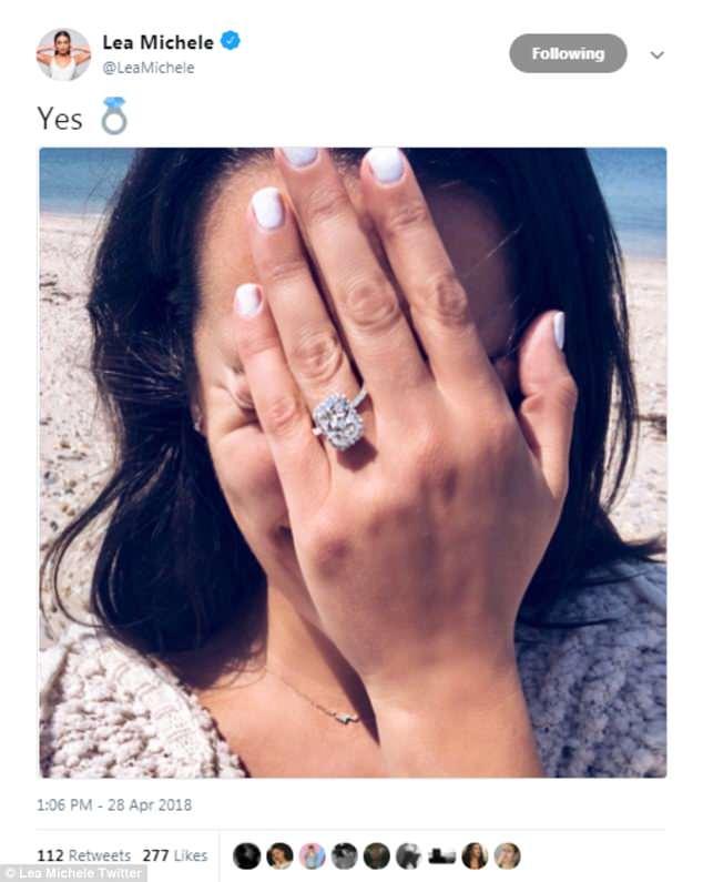 Lea Michele zaręczyła się z mężczyzną, który od lat był jej przyjacielem (ZDJĘCI