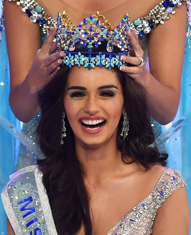 Manushi Chhillar – Miss World 2017 pochodzi z Indii