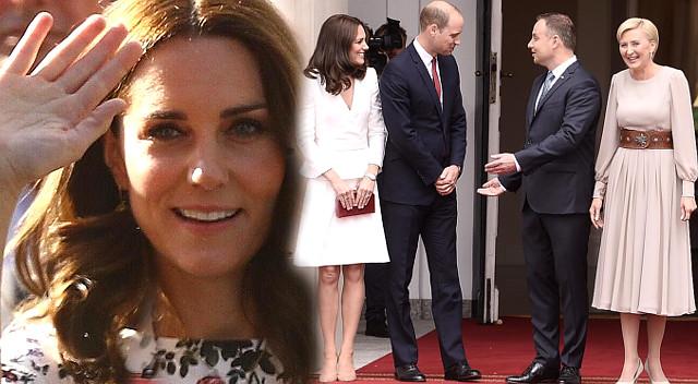 Wpadki podczas wizyty książęcej pary w Polsce