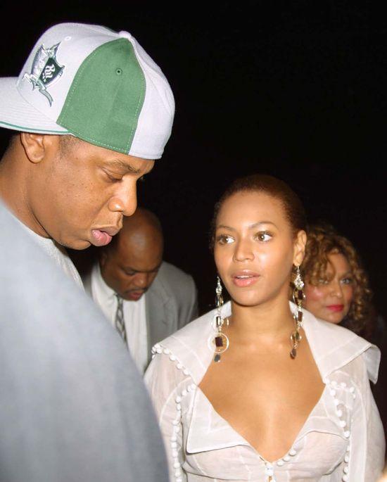 Beyonce i Jay Z w 2003 roku