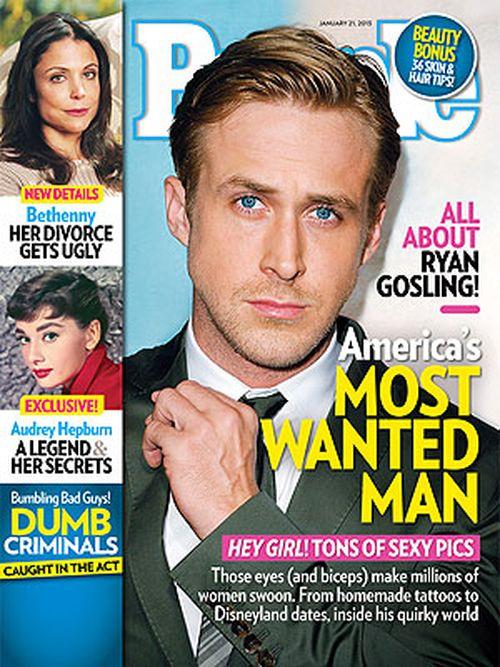 Ryan Gosling najbardziej pożądanym mężczyzną!