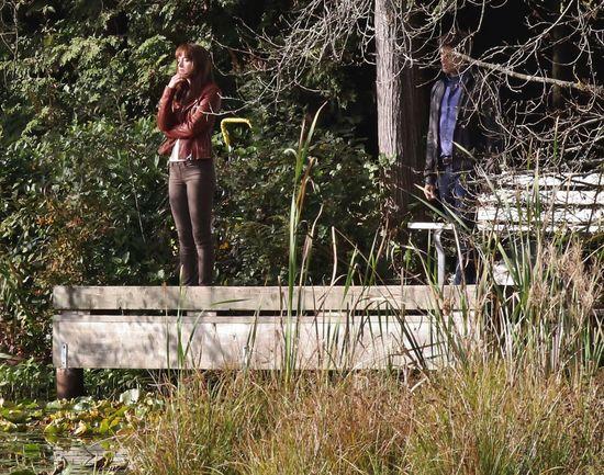 Pan Grey i Anastasia Steel pogrążeni w pocałunku (FOTO)