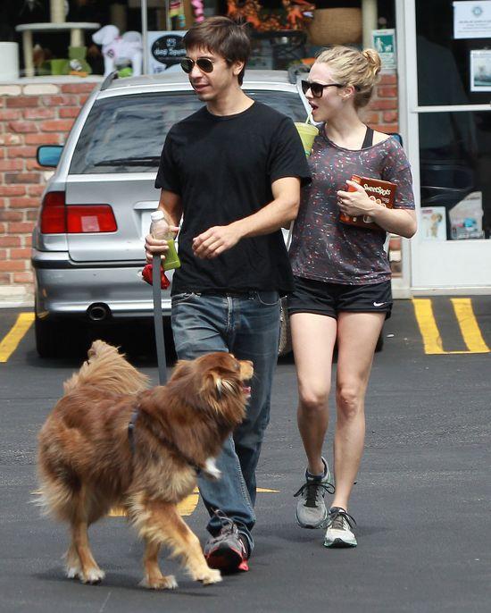 Amanda Seyfried i Justin Long na randce
