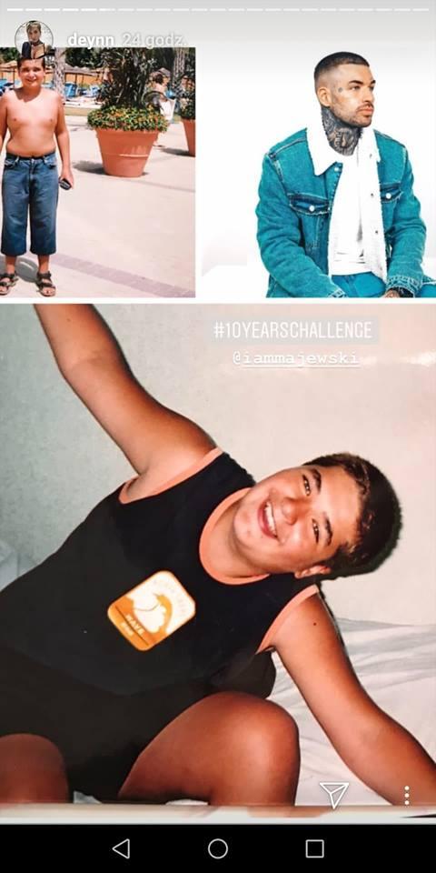 Deynn opublikowała zdjęcia sprzed 10 lat! Pokazała też Daniela Majewskiego