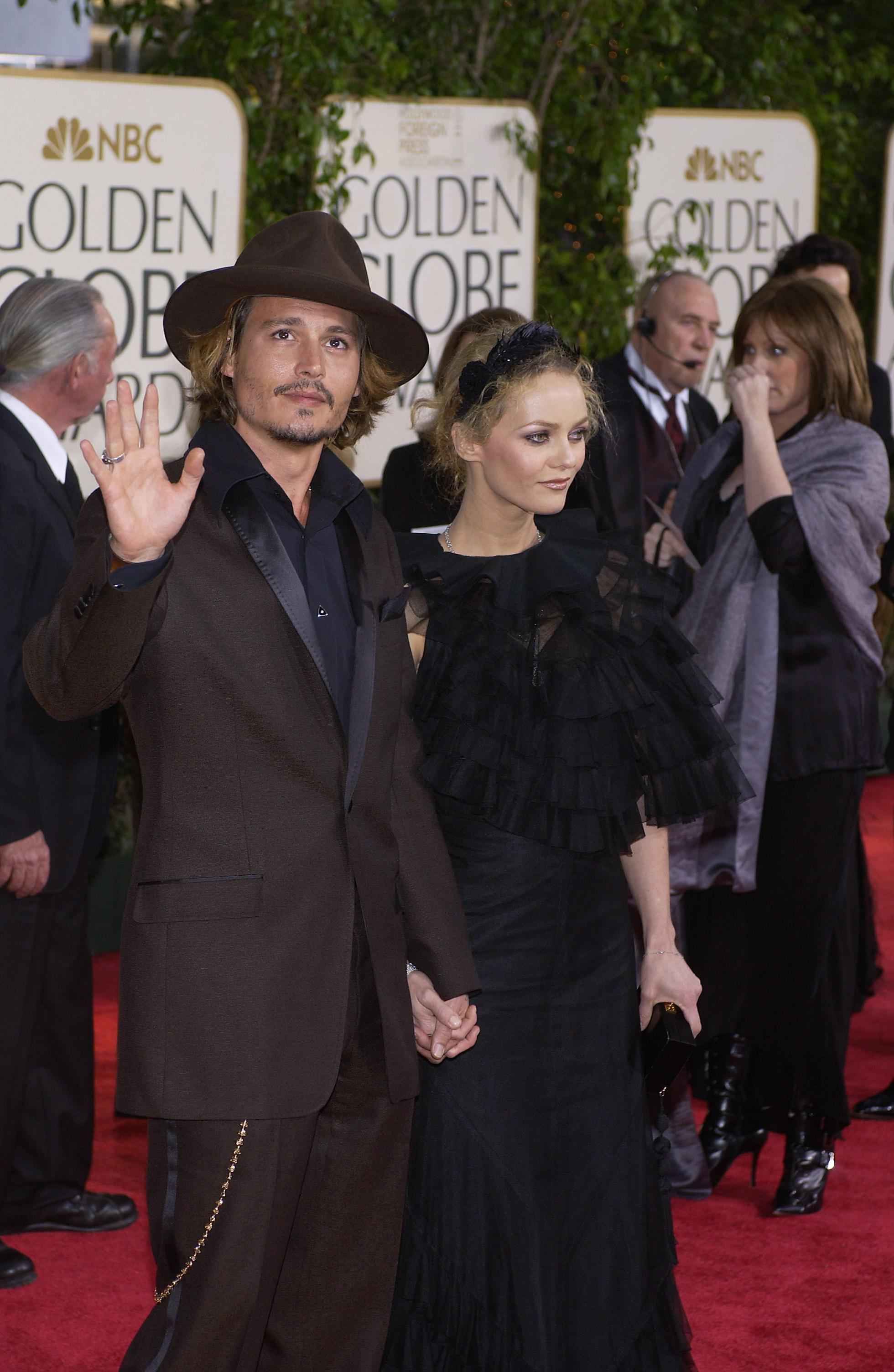 Johnny Depp z Vaness� Paradis