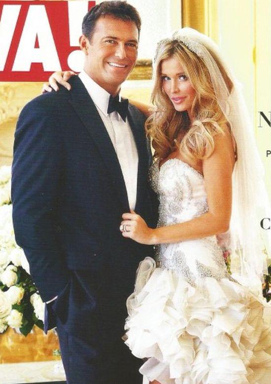 Joanna Krupa z mężem w ślubnej sesji dla Vivy! (FOTO)