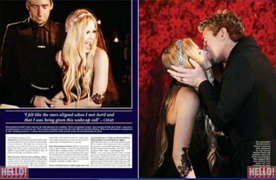 Avril Lavigne miała CZARNĄ suknię ślubną! (FOTO)