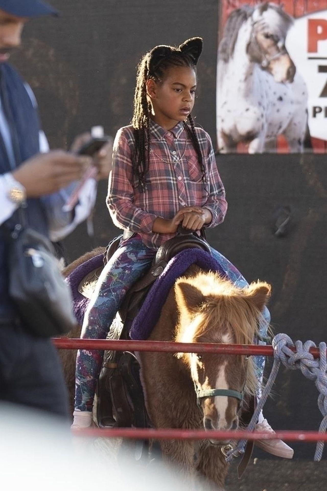 Blue Ivy na farmie dyniowej – córka Beyonce skończyła już 6 lat