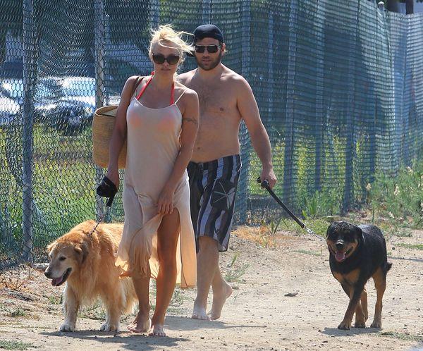 Pamela Anderson spotyka się z byłym mężem (FOTO)