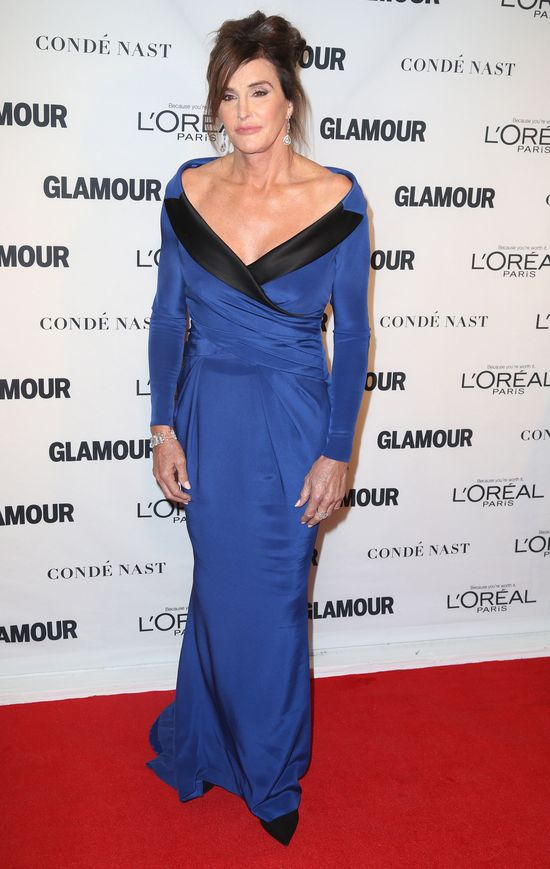 Cailtyn Jenner, Glamour Woman of The Year 2015