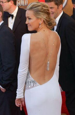 Kate Hudson znowu olśniewa w bieli (FOTO)